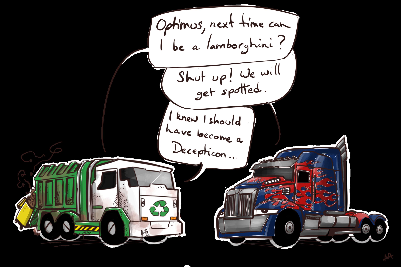 Optimus_X_Garbage_border